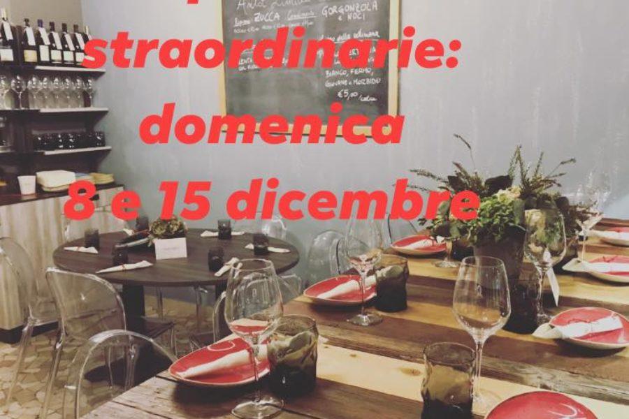 Ci trovi anche Domenica 8 e 15 Dicembre